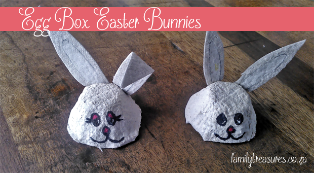 Egg Box Easter Bunny School Holiday Craft