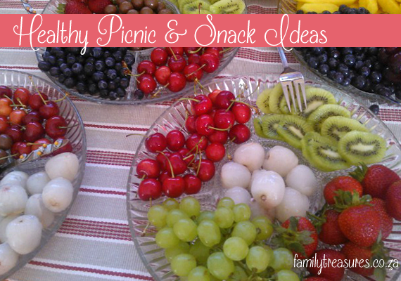 Roadtripping snacks the kids can help make!
