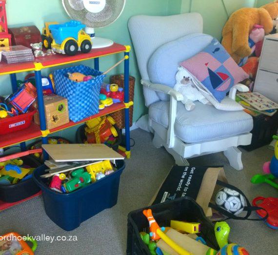 Organised: Little Boy Bedroom
