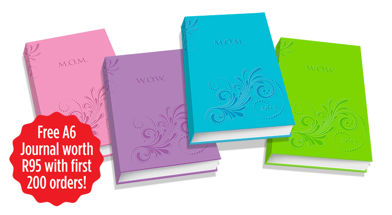 Giveaway: M.O.M Diary (Most Organised Mom)