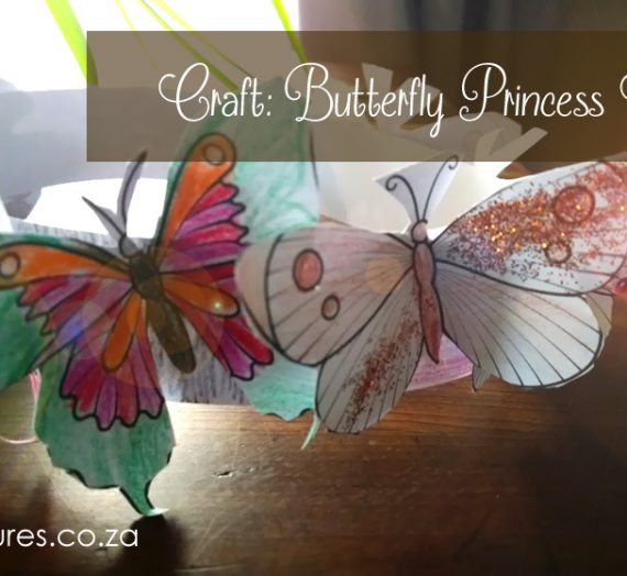 Craft: Butterfly Princess Crown