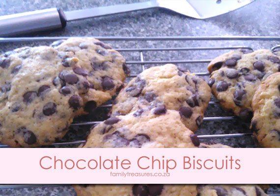 Winter Left-Overs Comfort Food Recipe 2: Chocolate-Chip Biscuits