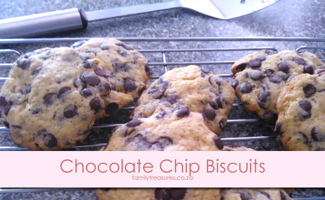 Winter Left-Overs Comfort Food Recipe 2: Chocolate-Chip Biscuits