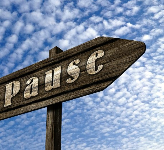 Pausing: Taking back your Power