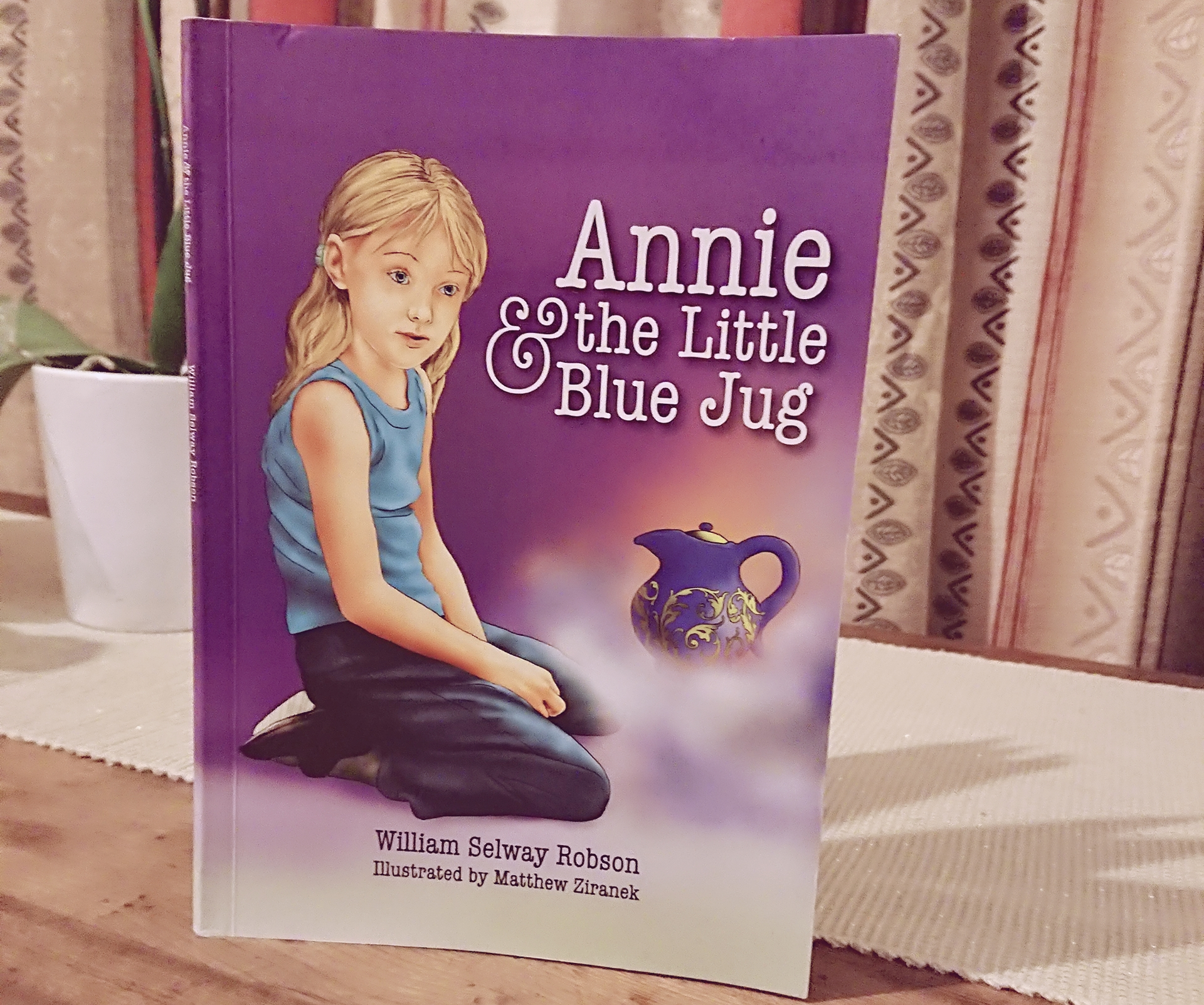 Week 30: Review – Annie and the Little Blue Jug